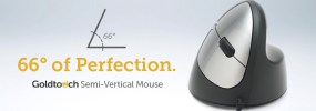The Goldtouch Semi-Vertical Mouse