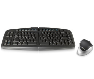 adjustable  keyboard and ergonomic mouse
