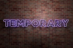 Temporary Solutions That Became Permanent Ones
