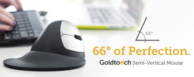 Goldtouch Semi-Vertical Mouse