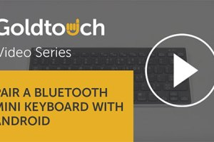 How to pair your Bluetooth Mini Keyboard with Android