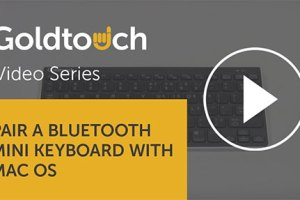 How to pair your Bluetooth Mini Keyboard with Mac OS