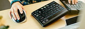 egonomic keyboard and mouse