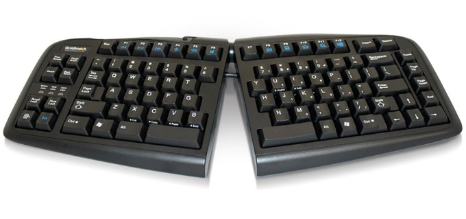 Best Ergonomic Keyboard Goldtouch V2 Adjustable Keyboard