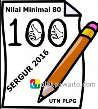 Sertifikasi Guru 2016, Harus Lulus PLPG dan Nilai UKG Minimal 80