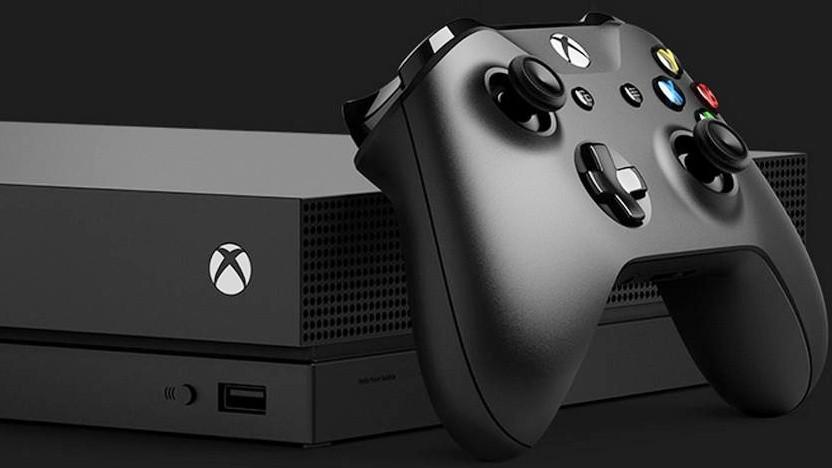 Die seit Ende 2017 erhältliche Xbox One X von Microsoft.