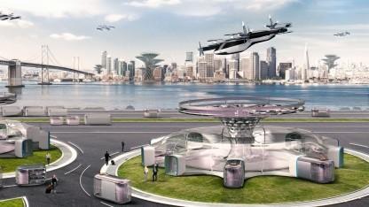 Urban Air Mobility: Hyundai stellt Flugtaxi vor - Golem.de