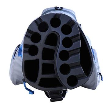 Big Max Dri Lite Silencio Cartbag - Wasserabweisende Golftasche schwarz - 2
