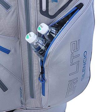 Big Max Dri Lite Silencio Cartbag - Wasserabweisende Golftasche schwarz - 3