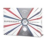 Callaway Golf 2019 Supersoft Golfbälle, Herren, Supersoft 19 Golf Ball, weiß - 1
