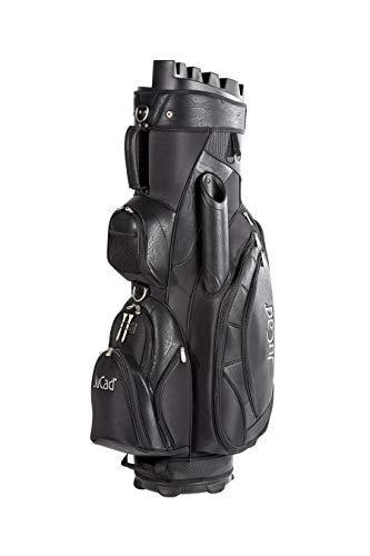 JuCad Bag Manager I Golfbag I Trolly I Golftasche I Schirmfach I Tragegriff I Farbe Schwarz - 1