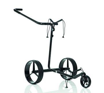 JuCad Carbon Classic Golf Trolley I Golf Caddy I Elektrisch I Elektrocaddy - 1