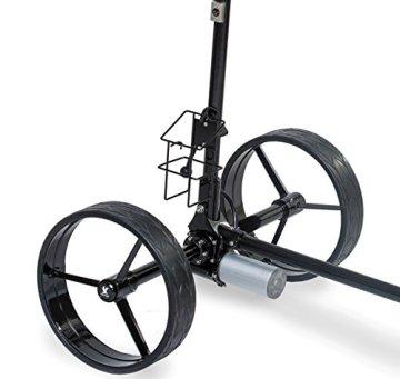 Leisure Golf Elektro Golftrolley Figus DHC (Schwarz) - 7