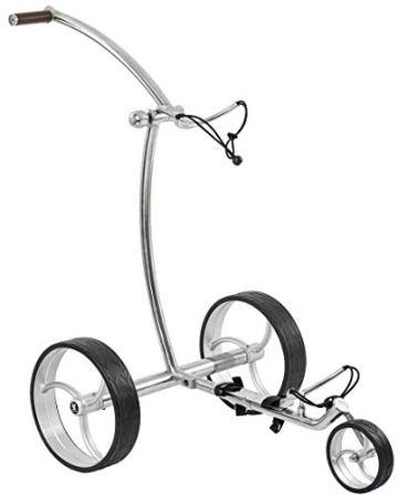 Leisure Golf Elektro Golftrolley Taurus Slim Line Bergabfahrbremse und Distanztimer - 1