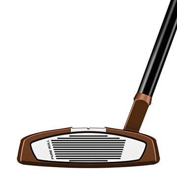 TaylorMade Golf Spider X Putter, Copper/White, 3 Hosel, Left Hand, 35
