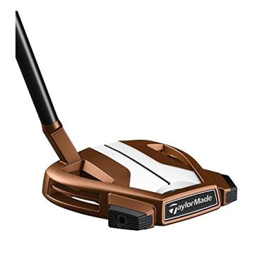 "TaylorMade Golf Spider X Putter, Copper/White, 3 Hosel, Right Hand, 34"" - 1"