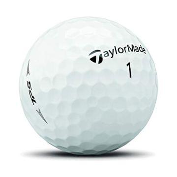 TaylorMade TP5 Golfbälle, Unisex, Golfball, M7152201, weiß, One Dozen - 3
