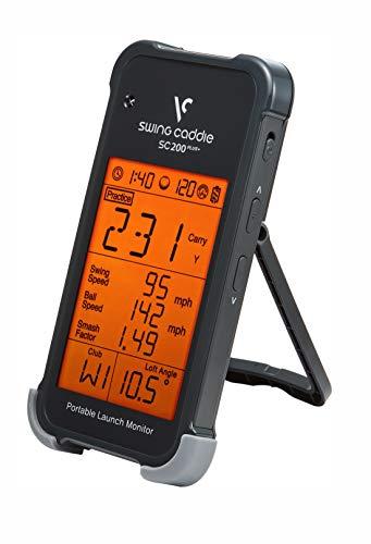 Voice Caddie SC200+ Launch-Monitor Swing-Analyse, Unisex, Schwarz, Einheitsgröße - 2