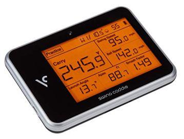 Voice Caddie Unisex– Erwachsene Swing Caddie LUNTER Monitor SC300 Tragbarer startenmonitor, SCHWARZ, One Size - 8