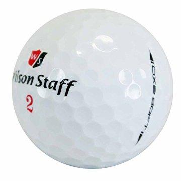 Wilson Staff, Weltweit weichster 2-teiliger Herren Golfball für maximale Reichweite, 12er-Pack, Fortgeschrittene, 29er Kompression, Kautschuk, Dx2 Soft, Weiß, WGWP37100 - 3