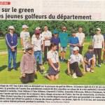 Retour sur le green pour les jeunes golfeurs du département