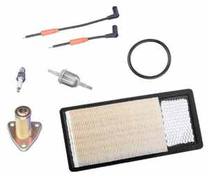 EZGO 608460 4-Cycle Engine Tune-Up Kit With Rectangular Air Filter