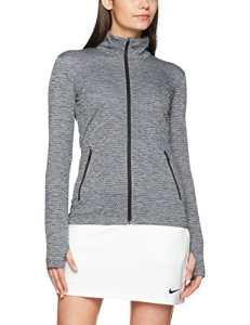 Nike 846422-010 Veste Femme, Noir/Noir, FR : S (Taille Fabricant : S)