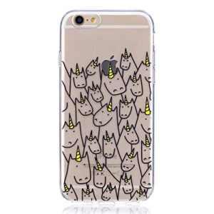 inShang iPhone 6 (6s) 4.7inch coque étui pour téléphone portable, Anti Slip, ultra mince et léger, étui rigide fait dans le matériel de TPU, housse Mate9 coque