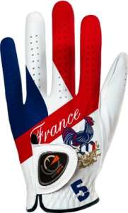 Easy Glove Flag_France Gant de golf Multicolore ML