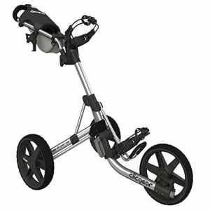 2014 Clicgear Model 3.5+ Trolley Golf Pushcart Silver