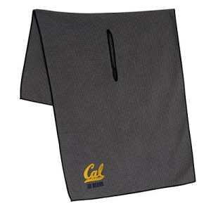 Équipe effort Collegiate Serviette en microfibre grise, Cal Berkeley Golden Bears Grey Microfiber Towel