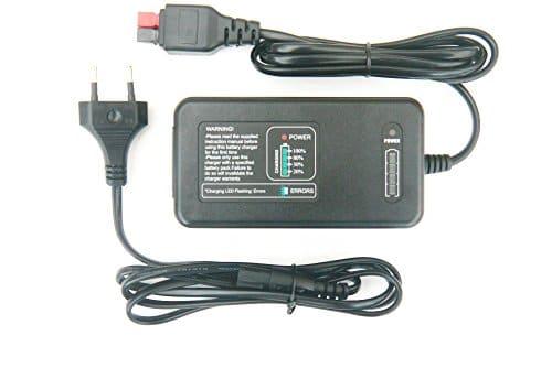 Kaddie Boy Limited Entièrement Automatique Chargeur de Batterie pour Batteries au Lithium Trolem Lifepo–2PIN Euro Plug