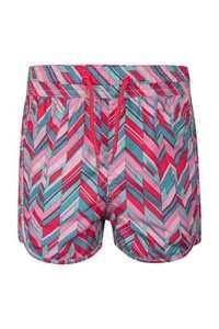 Mountain Warehouse Le Conseil des Femmes modelées abréviation – des Shorts faciles de Bain de Dames de Soin, Shorts réglables de Plage de Taille, Pantalon Court léger Fuschia 3-4 Ans