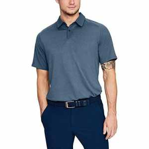 Under Armour Threadborne Chemise Polo Homme Full Heather/Static Blue/Rhino Gray (414), FR (Taille Fabricant : 3XL)