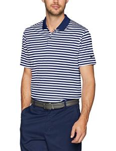 Nike pour Homme Dry Victory Stripe Polo, Homme, 891853, College Navy/White/Black, XXXL