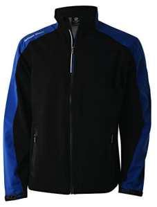 Wilson Golf Homme Veste de Pluie, PERFORMANCE TOP, Polyester, Noir, Taille: XXL, WGA700263