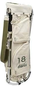Sac de Golf Mizuno Golf Japon Mizuno × Kinoshohamp Cadre Walker Support Caddy Sac 5ljc1812002018Modèle Blanc cassé ミズノ × 木の庄帆布 フレームウォーカーキャディバッグ