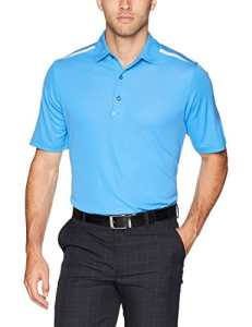 Greg Norman Offshore Polo Manches Courtes Homme, Blue Surf, x-Large