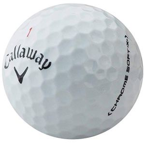 lbc-sports Callaway Paire de balles de Golf en Chrome Soft X AAA Blanc, lbc-6310-var-12-200, Weiß, 200 Bälle