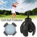HATCHMATIC Mini pétale en Forme de Balle de Golf Collector Retriever Grabber Sucker Outil Professionnel de Golf Accessoires