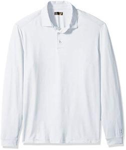 PGA Tour Homme PVKF80A6 T-Shirt de Golf – Blanc – Taille S