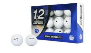 Second Chance Premium Nike One 12 balles de golf recyclées de catégorie A