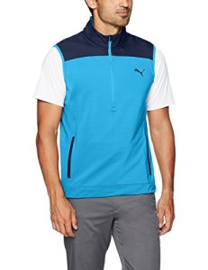 Puma Golf 2017pour Homme Pwrwarm Knit Gilet, Homme, Marina, Grand