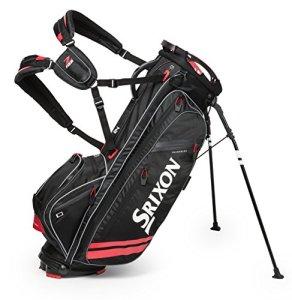 Srixon Golf Z-Four Sac de Golf avec Support, 11800024, Noir/Rouge, L