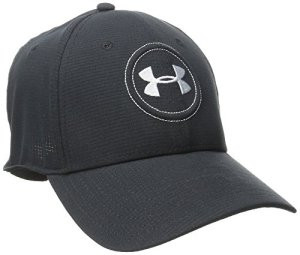 Under Armour 2016 AirVent Official Tour 2.0 Stretch Fit Lightweight Men's Golf Cap Black Medium/Large