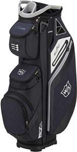 Wilson Staff Golf 2019 EXO Cart Bag Trolley Bag 14 Voies pour Hommes Black/Black/Grey