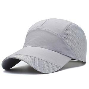 TYMVisor Casquette de Baseball été Unisexe réglable Sport en Plein air en Cours d'exécution Loisirs écran Solaire Respirant Chapeau d'ombre (56-60CM),6#