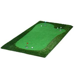 YAOSHIBIAN- Golf Putting Green System Artisan Portable Portable Artificiel Mini Vert Indoor Putter Exerciseur Environnemental Oak Valley, Vert Équipement de Golf (Couleur : Project, Taille : 2 * 4m)