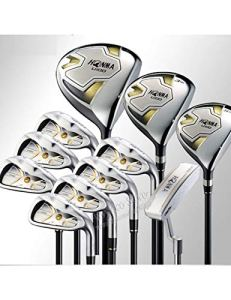HDPP Club De Golf Clubs De Golf Ensemble Complet De Clubs Club Driver + Bois De Parcours + Fers + Putter Ensemble De Golf Graphite Golf Shaft