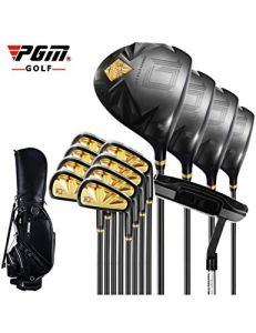 HDPP Club De Golf Costume De Putter De Golf pour Pôle DBlack Gold Steel Rod